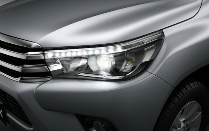 HiLux LED Headlamps Driving Running Lamps